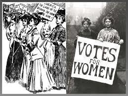 digital history of women in America   syffrage