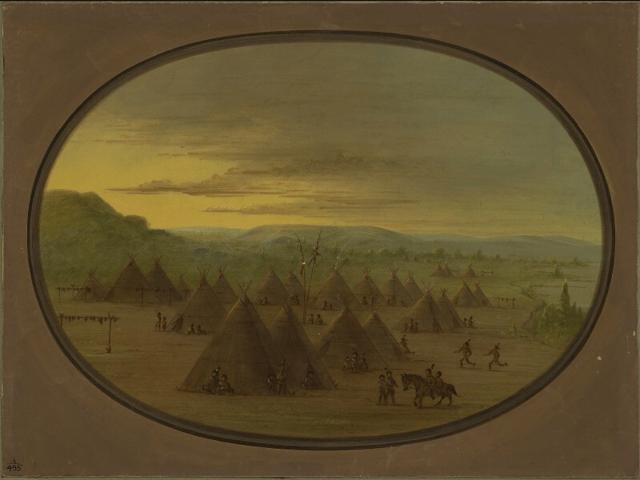 digital history of Native Americans   origins