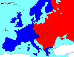 digital history of the Cold War | division of Europe