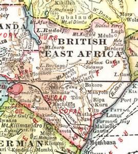 digital history of colonial Africa | polities