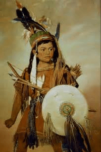digital history of the Early Americas | Amerindians | Navajo, Apache, and Mandan
