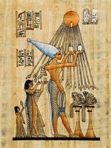 digital history of Ancient Egypt | sun gods
