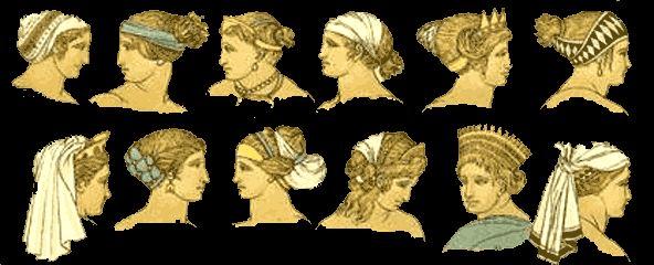 digital history of society in Greece | hair