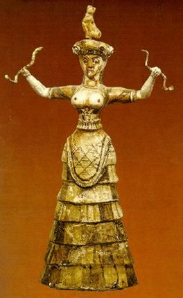 digital history of Minoan Crete | religion