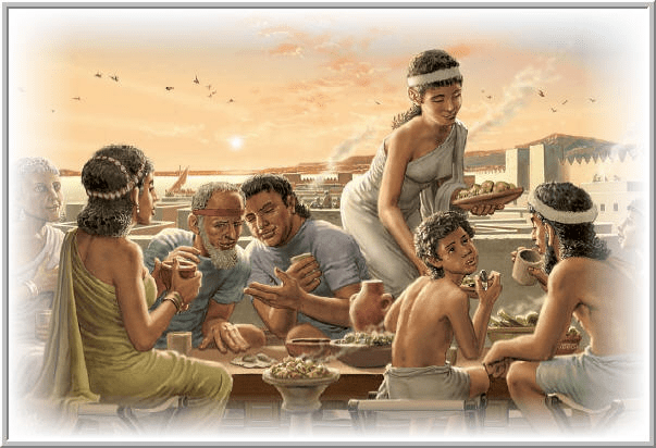 digital history of the Heroic Age | daily life
