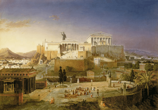 digital history of the Classical Era | reconstruction of Athens
