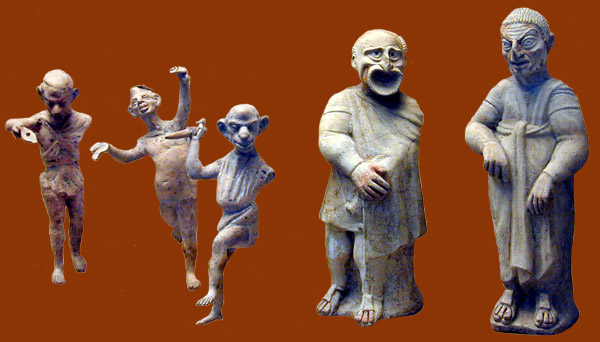 digital history of culture in Rome | mime