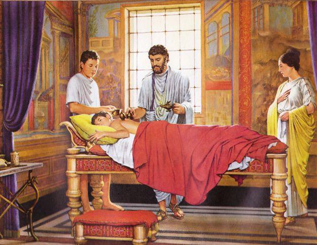 digital history of culture in Rome | medicine
