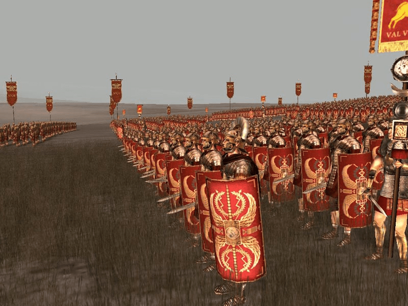 digital history of power in Rome | military