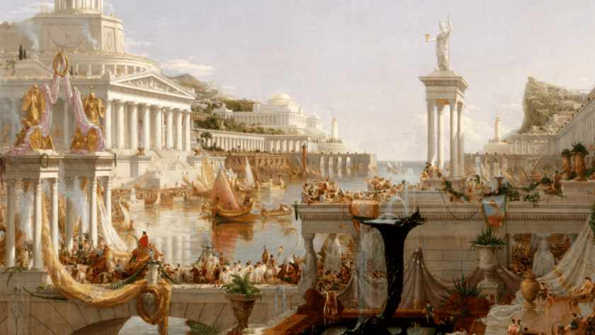 digital history of the Roman Empire |