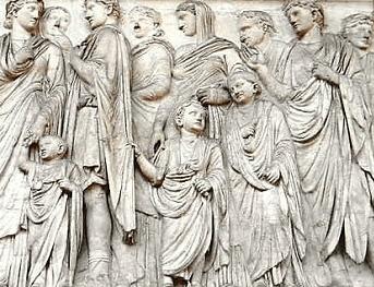 digital history of the Roman Empire | Augustus | society