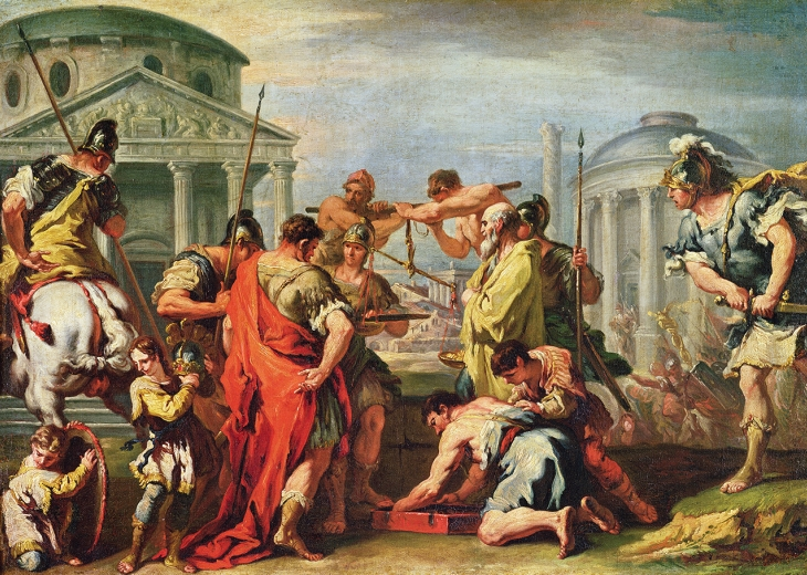 digital history of the Roman Empire | political anarchy