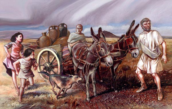 Roman roads   transport