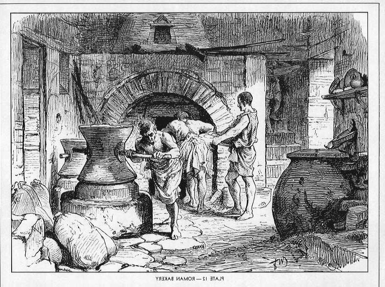 digital history of the economy of Rome   labor