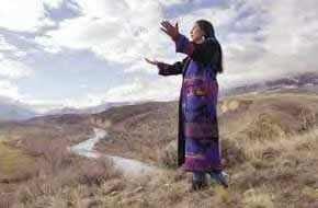 Rose Ann Abrahamson (Lemhi Shoshone)