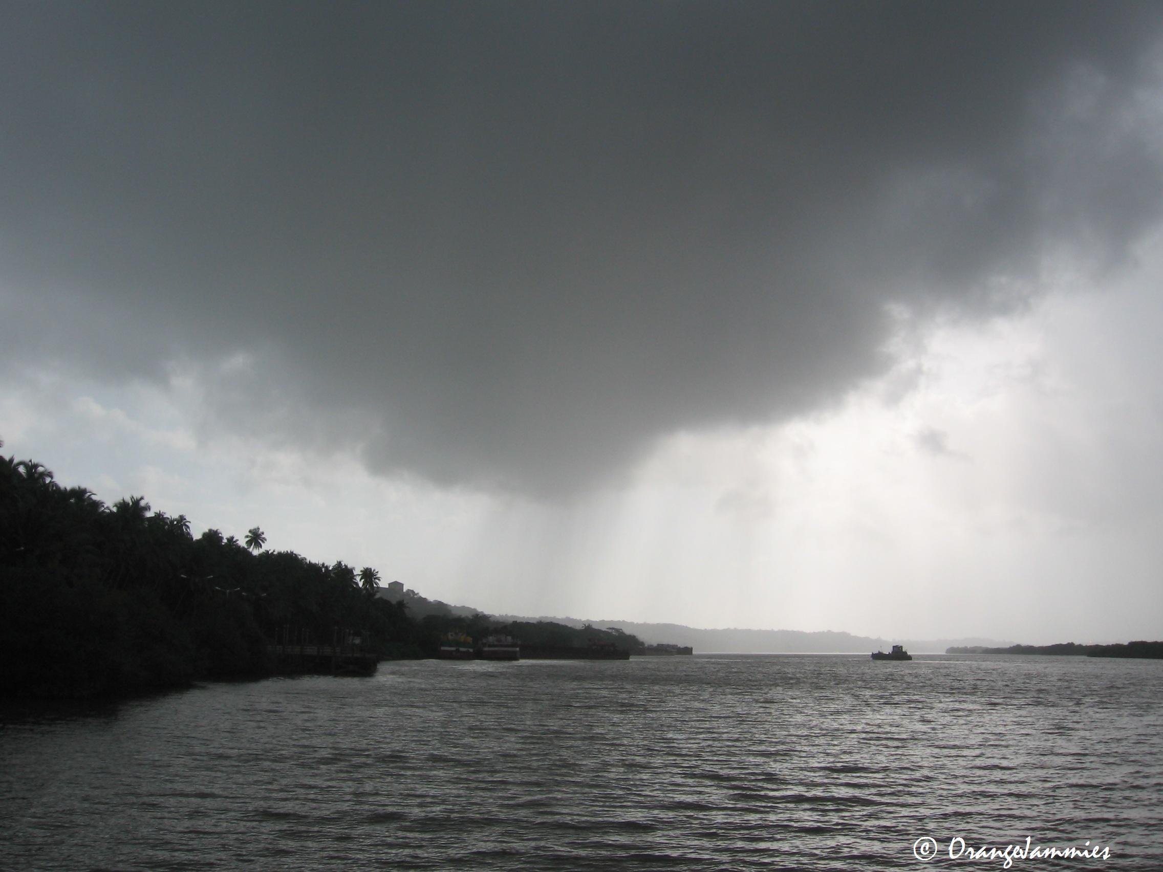 Storm over the Mandovi