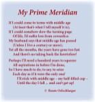 aging, middle age, sonnet, poem, light verse