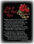 Like-A-Red-Red-Rose, valentine, love letter, love poem, sonnet, poetry, poem