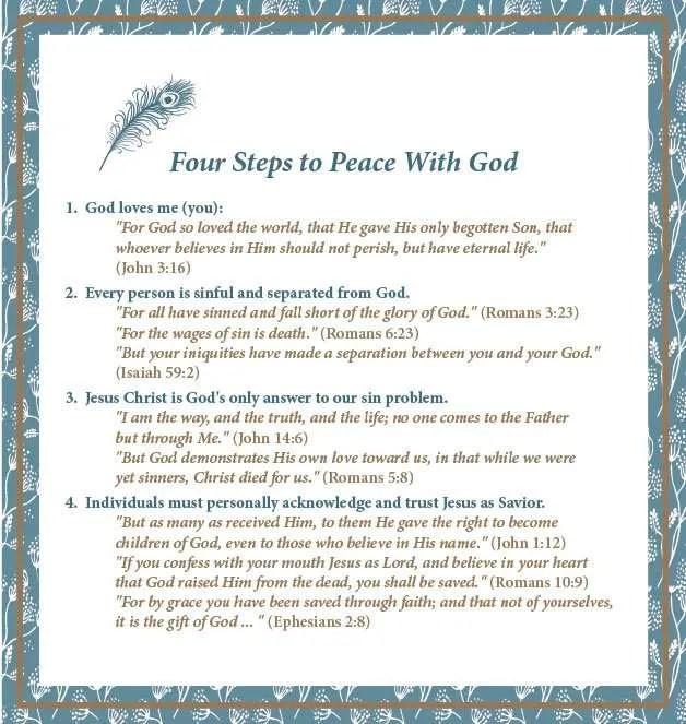 Four-Steps-To-Peace