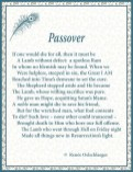 Passover, sonnet, poetry, poem