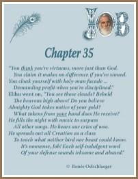 Job Chapter 35
