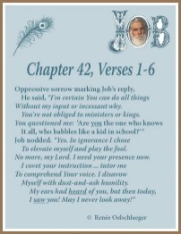 Job Chapter 42, part 1