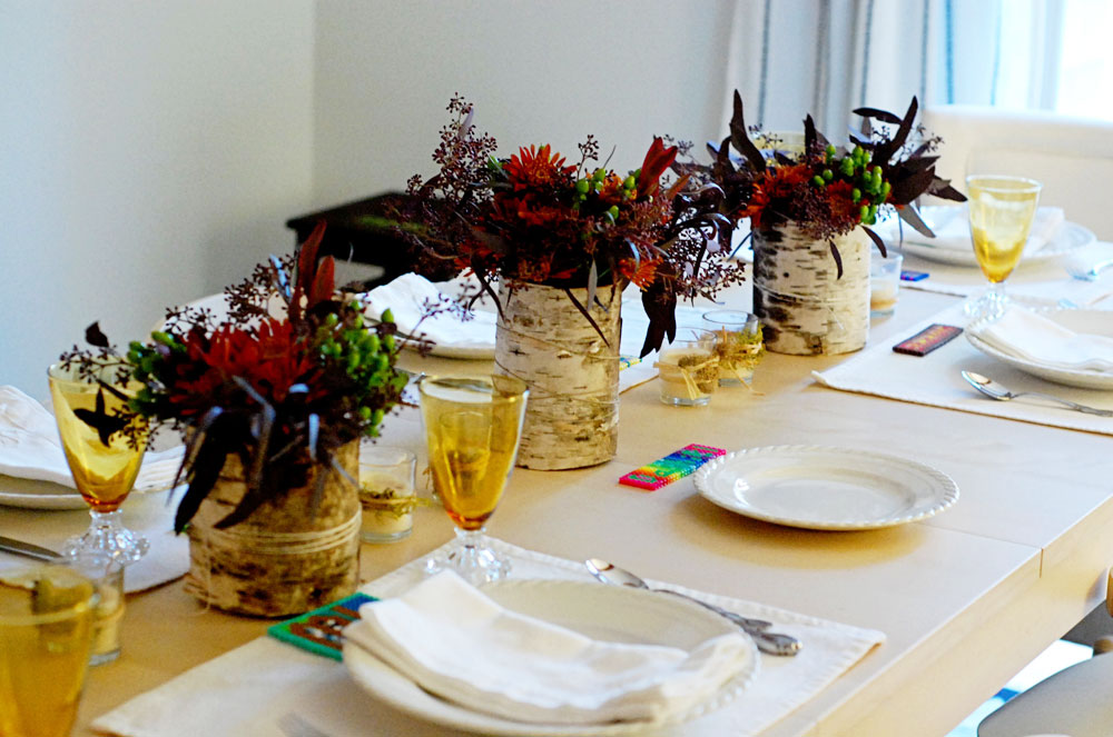 DIY Thanksgiving Table