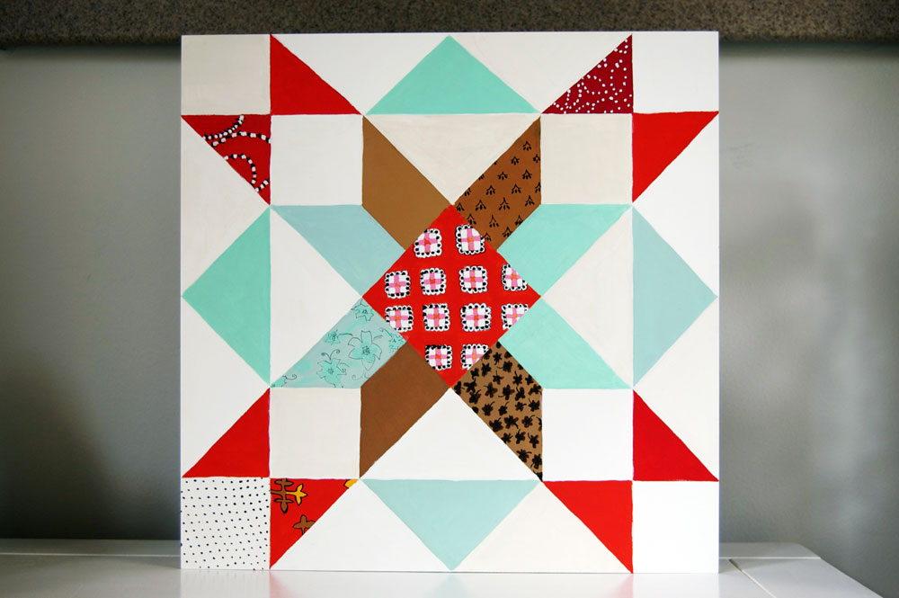 quilt painting