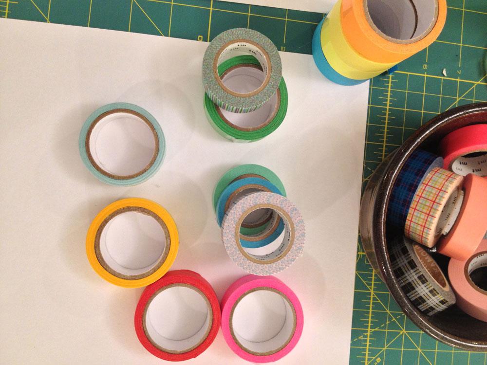 DIY Washi Tape Garland