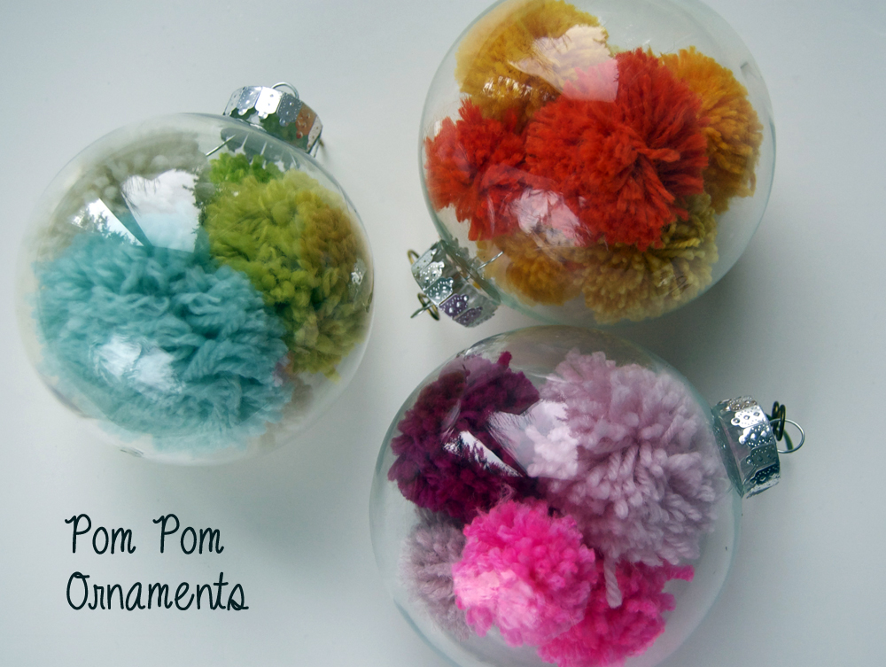 PomPom Ornament DIY