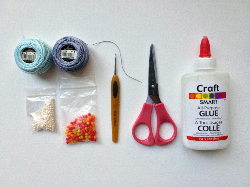 crochetnecklacematerials