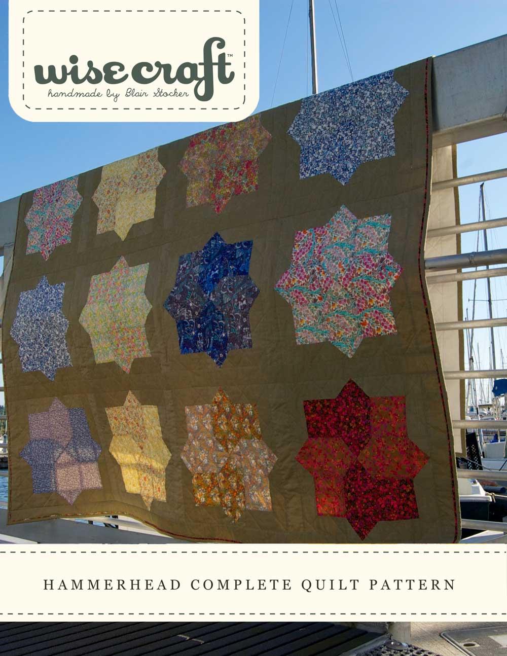Hammerhead Quilt Pattern by Wise Craft Handmade