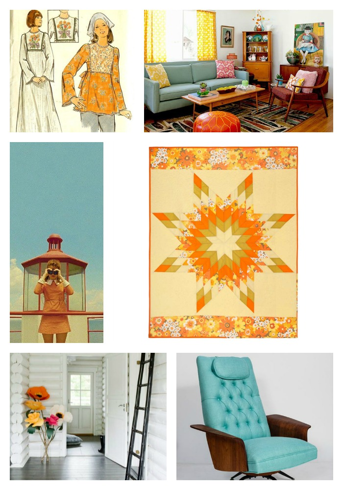 Lone Star Quilt Collage