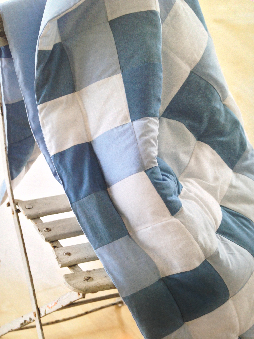 Tie or Knot Your Quilt Layers Together - Wise Craft Handmade : knotting quilts - Adamdwight.com