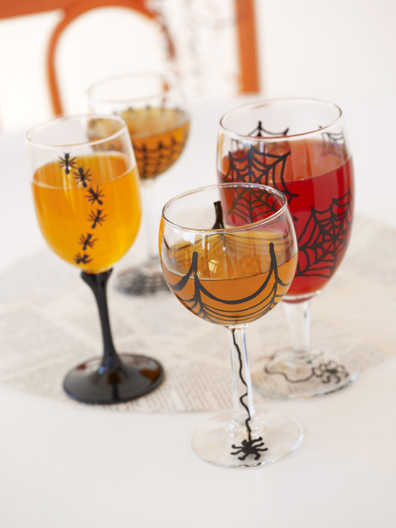 Spooky Halloween Goblets