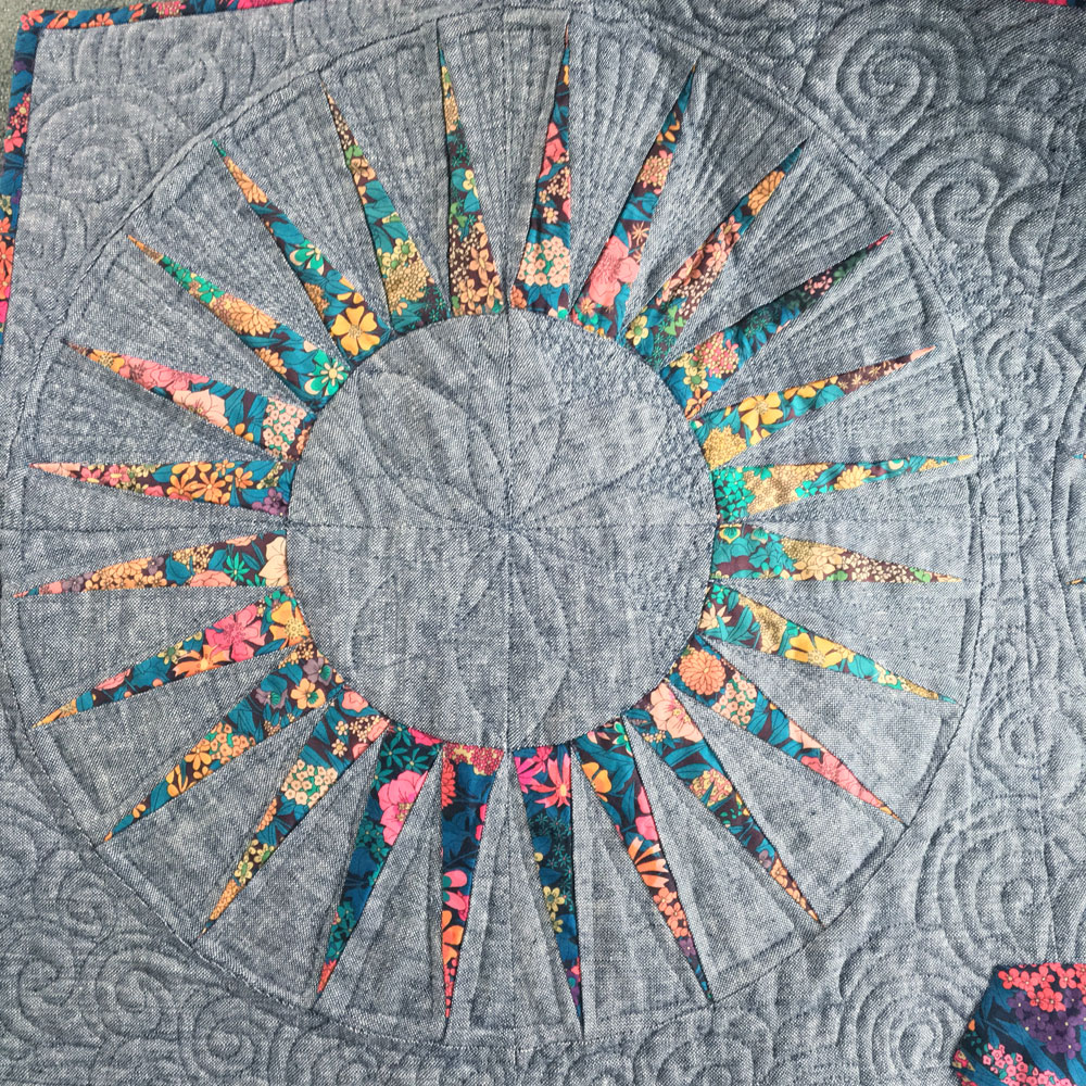 liberty spikes quilt 2