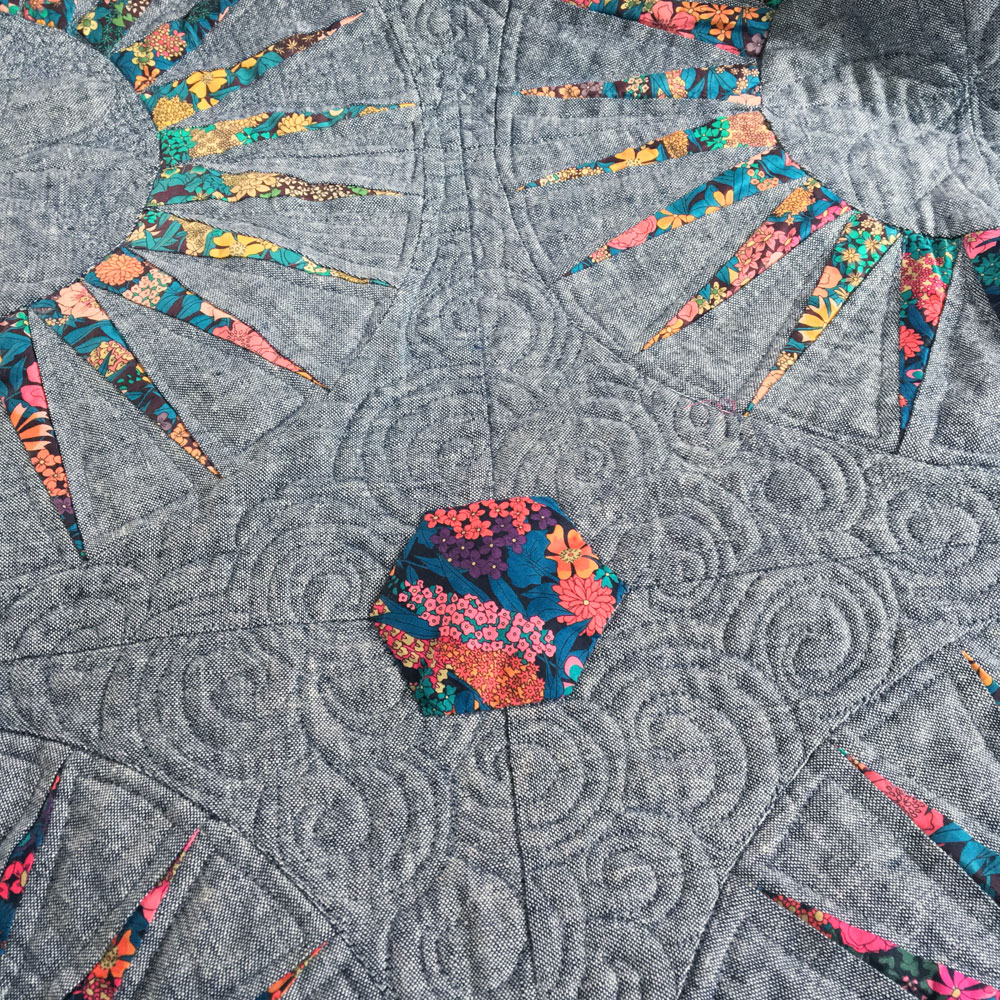 liberty spikes quilt 3