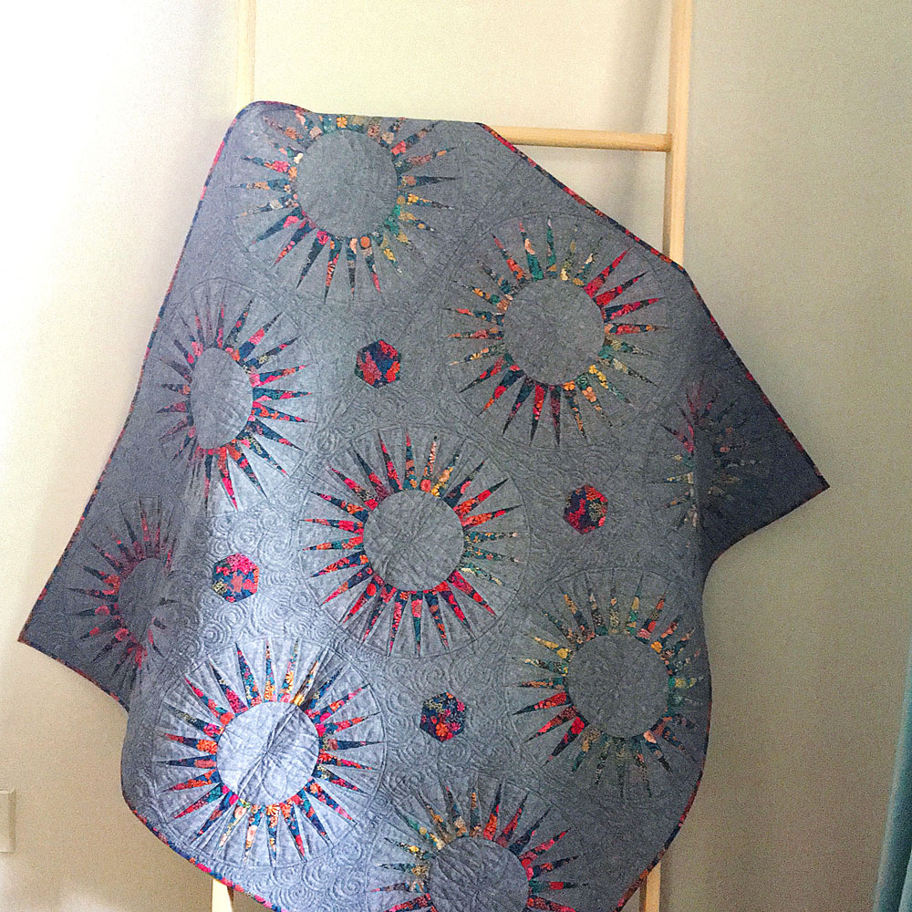 liberty spikes quilt 5