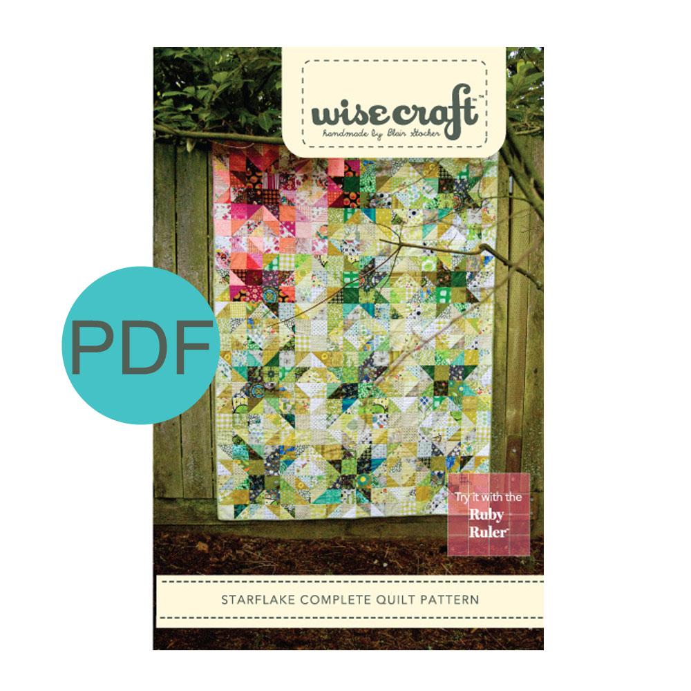 Starflake Quilt Pattern