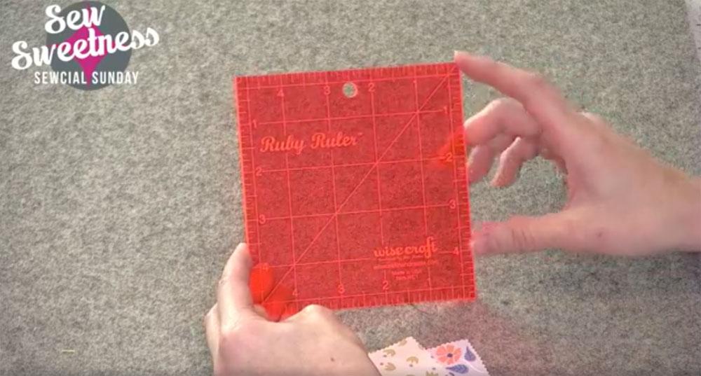 Sew Sweetness Ruby Ruler