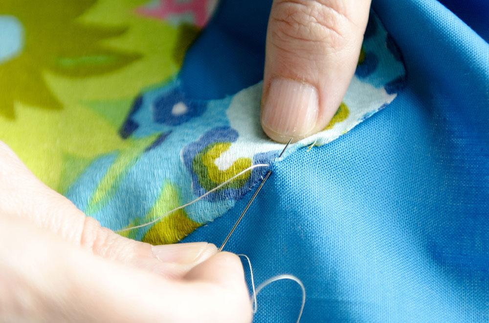 Muumuu stitch detail