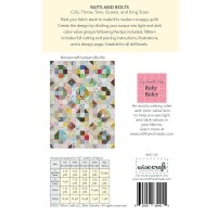 Nuts and Bolts Modern Scrappy Quilt Pattern