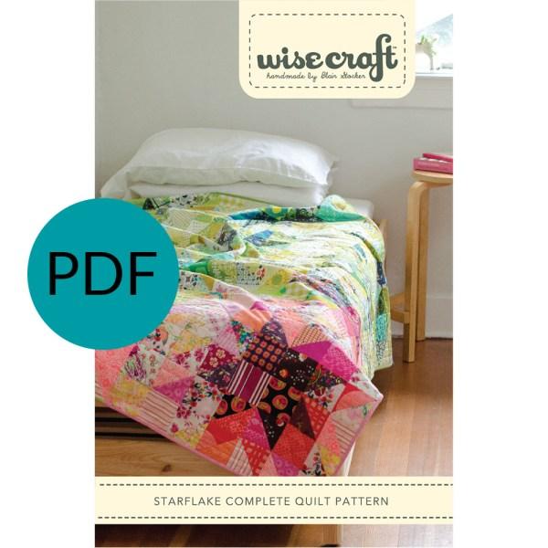 Starflake PDF Quilt Pattern