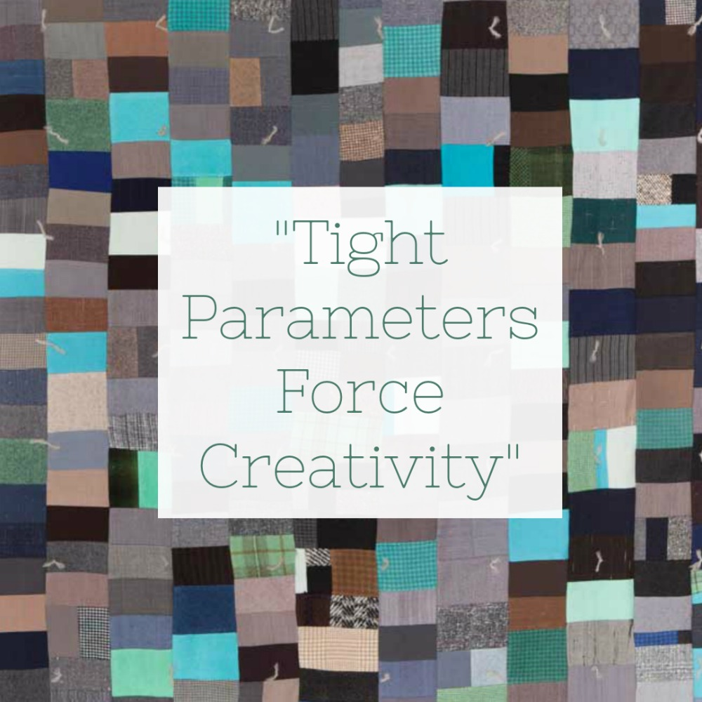 Tight Parameters Force Creativity