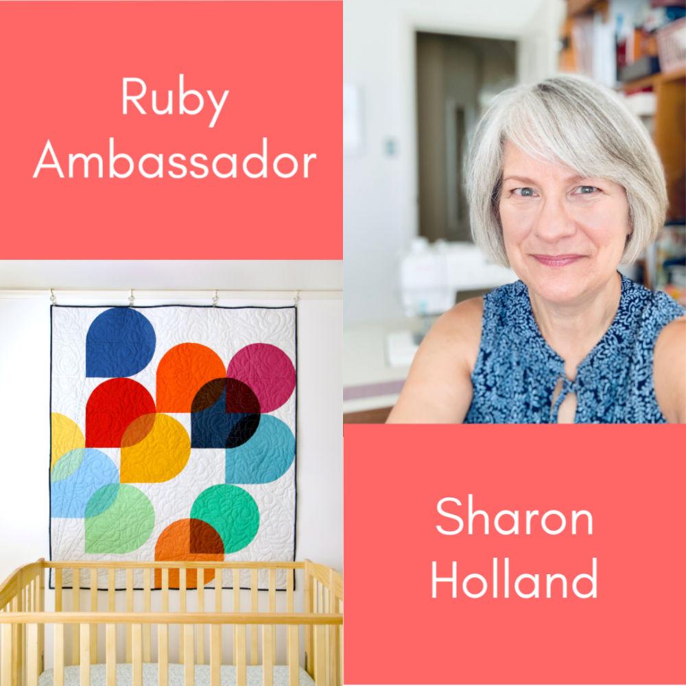 Ruby Ambassador Sharon Holland