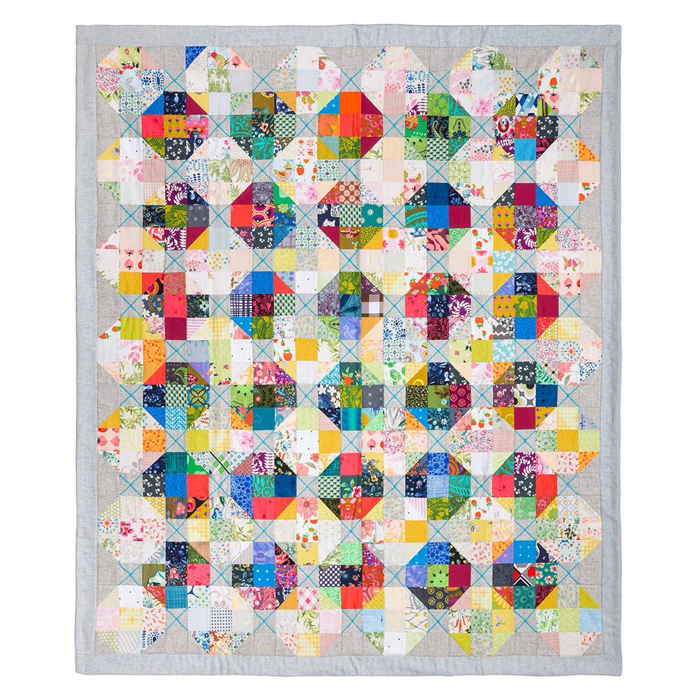 Tufted Modern Quilt Pattern