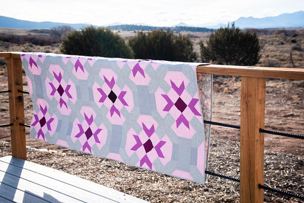 Flower Stamp Quilt
