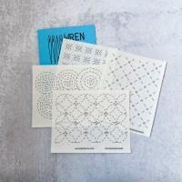 Washable Sashiko Stitch Patterns