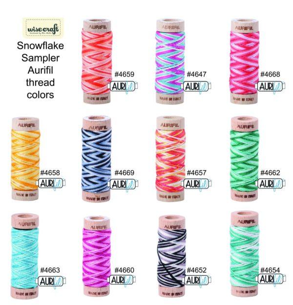 Aurifil Color Chart