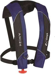 ABSOLUTE OUTDOOR Onyx AM-24 AutomaticManual Inflatable Life Jacket